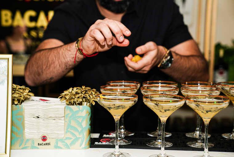 BACARDÍ®'s Atlanta Rum Room was an extravagant affair