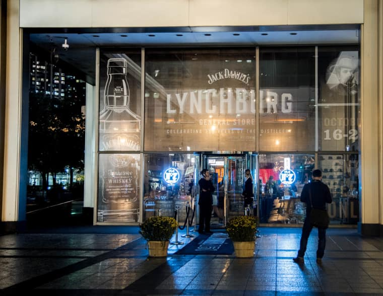 Jack Daniel's Turned A Chicago Storefront Into A Lynchburg-Inspired Saloon