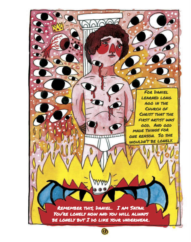 Daniel Johnston's Amazing Life Is Now A Batshit Graphic Novel