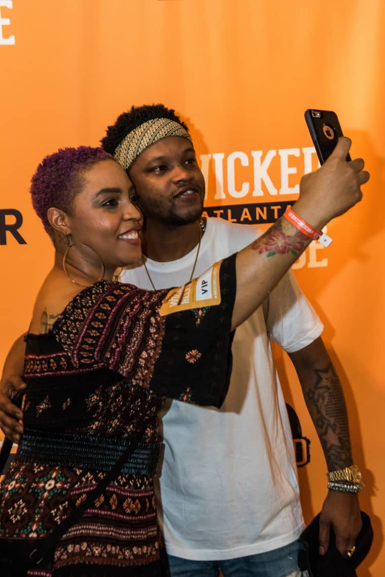 See Photos From BJ The Chicago Kid And MadeinTYO's #WickedReleaseATL Party