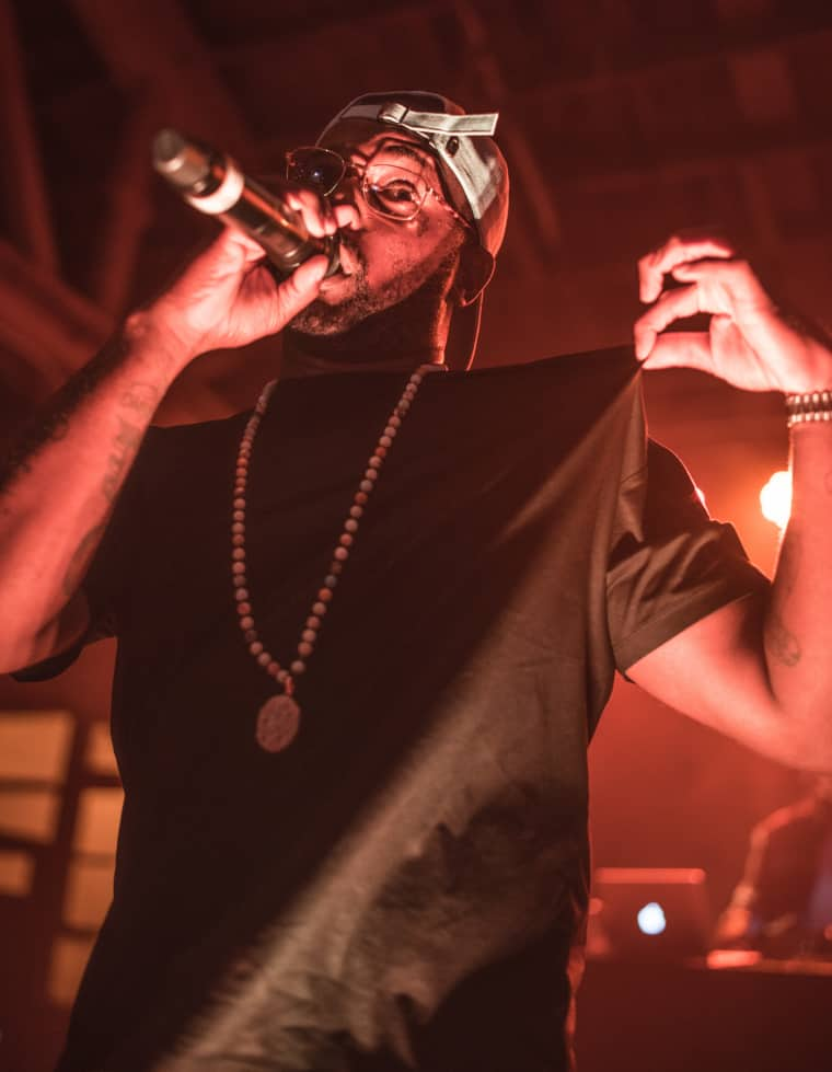 ScHoolboy Q and Black Dave Share The Stage