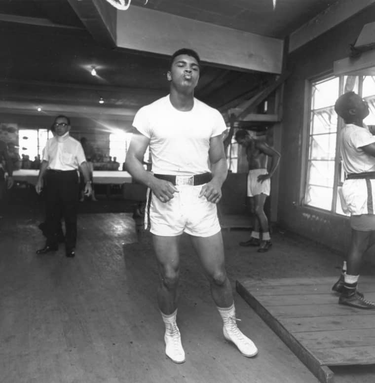 Intimate, Playful, And Intense Moments With Muhammad Ali
