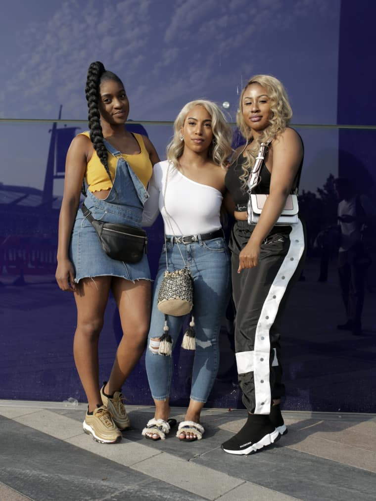 Everyone at London's Afro Republik festival is a master of sporty-fancy