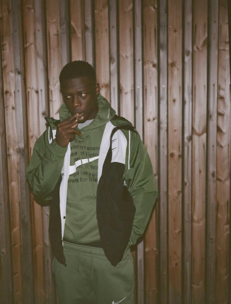 Pa Salieu is Coventry's hopeful rap star