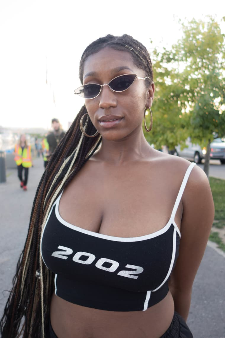 The best Y2K-era looks from OVO Fest Day 1