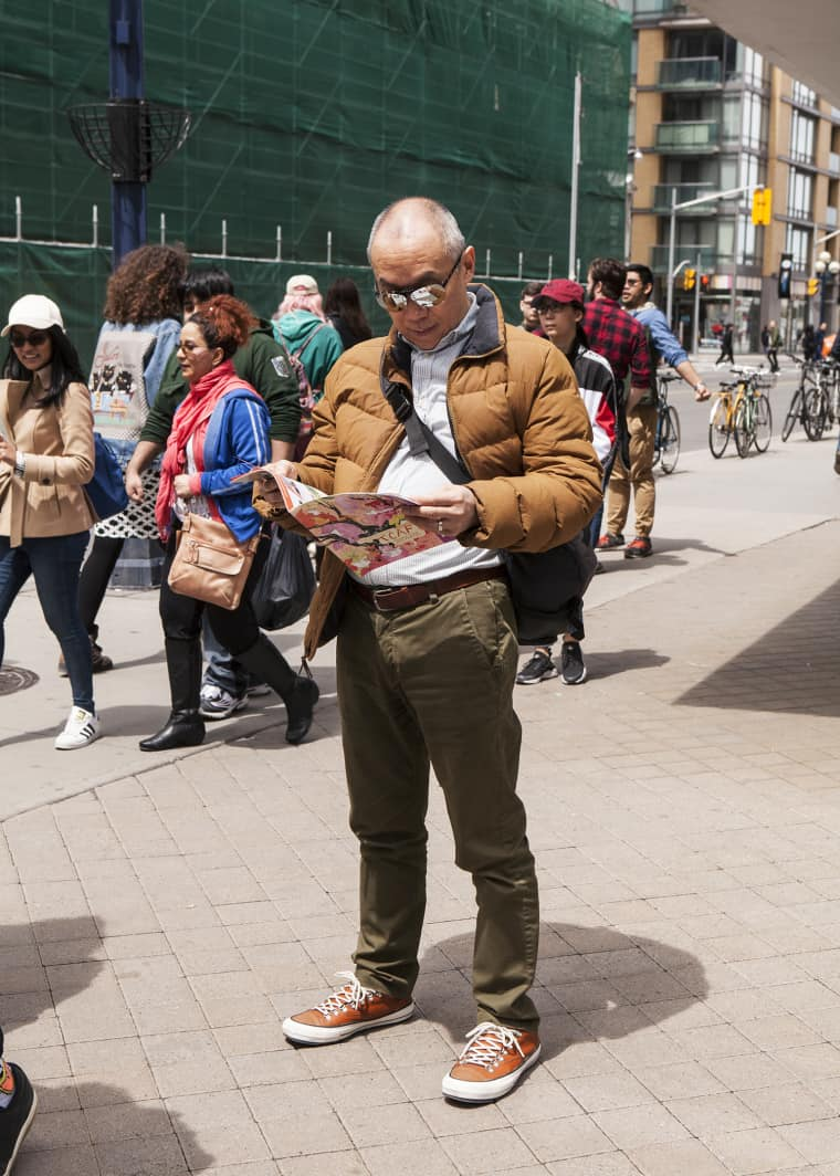 Toronto comic fans can rock the hell out of a light jacket