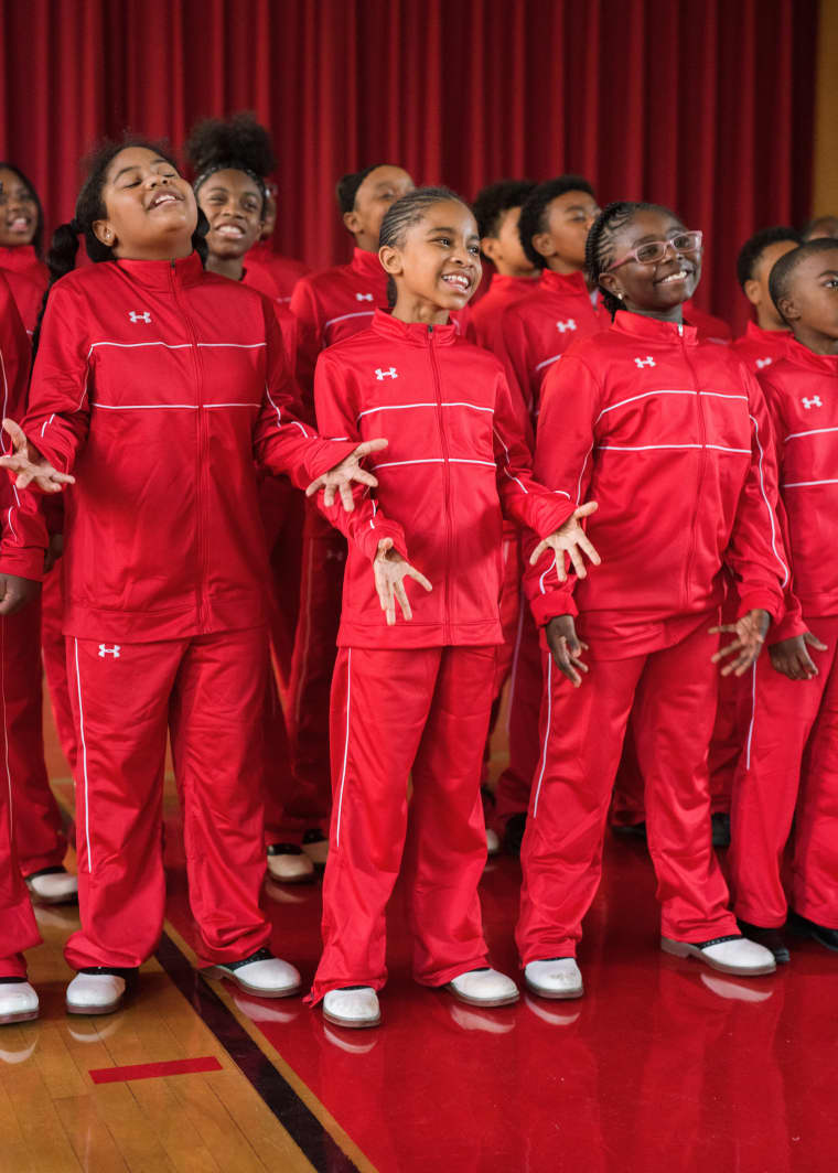 """This video of a Baltimore children's choir singing """"Santa Claus Is Coming To Town"""" is gonna melt your soul"""