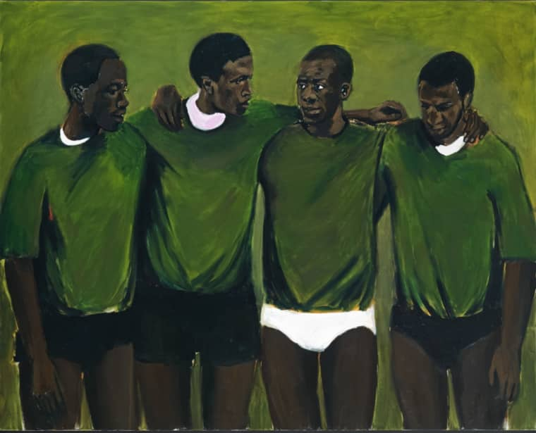 "Meet Lynette Yiadom-Boakye, The Painter Who Inspired Solange's ""Don't Touch My Hair"" Video"
