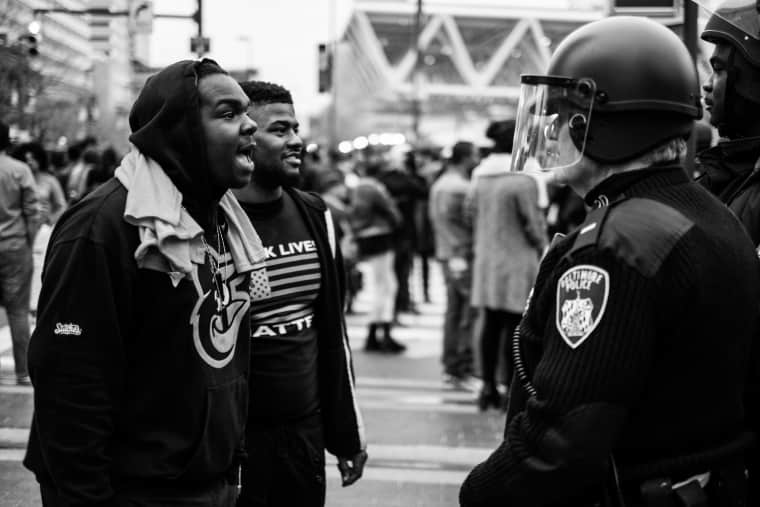 Devin Allen's photographs are vivid love letters to Baltimore