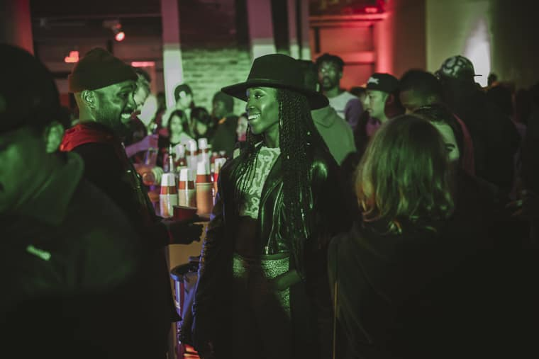 JoJo Sang Up A Storm While Q-Tip Brought The Hits At #uncapped