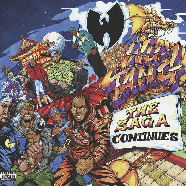 Wu-Tang Clan The Saga Continues Cover Art